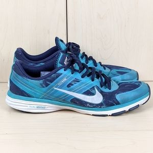 Nike | Blue Dual Fusion Running Shoes